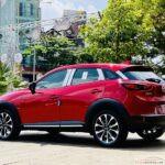 Đã mắt ngắm bộ ảnh Mazda CX-3 màu đỏ say đắm trên góc phố