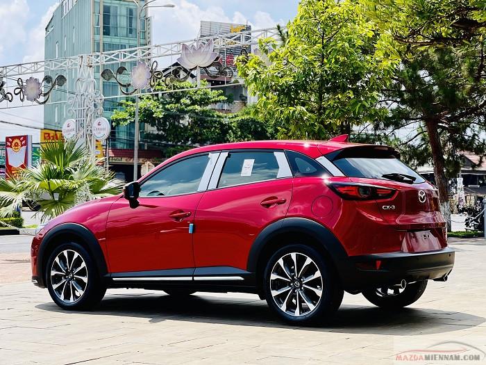Mazda CX-3 màu đỏ 7