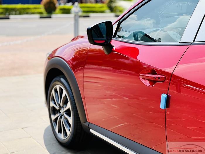 Mazda CX-3 màu đỏ 11