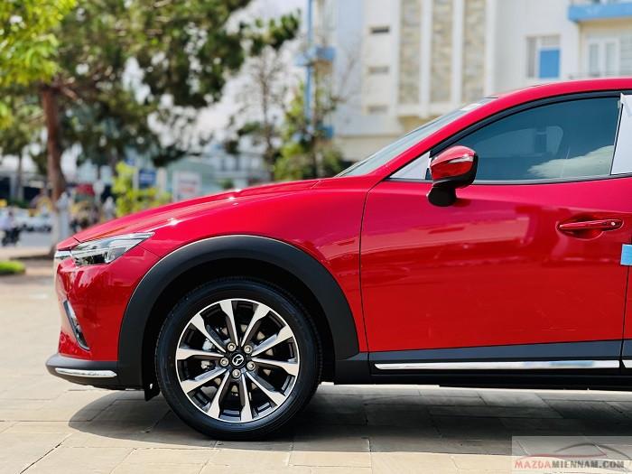 Mazda CX-3 màu đỏ 12