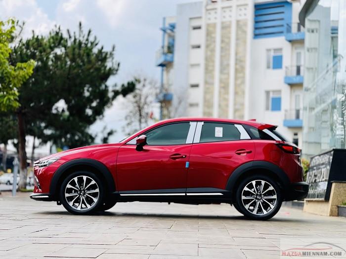 Mazda CX-3 màu đỏ 13