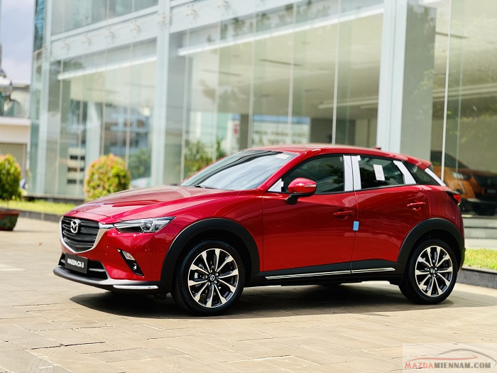 Mazda CX-3 màu đỏ 4