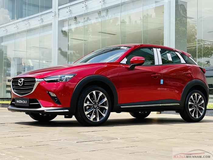 Mazda CX-3 màu đỏ 6