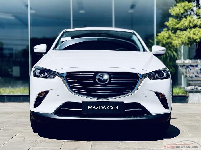 Mazda CX-3 2021 màu trắng