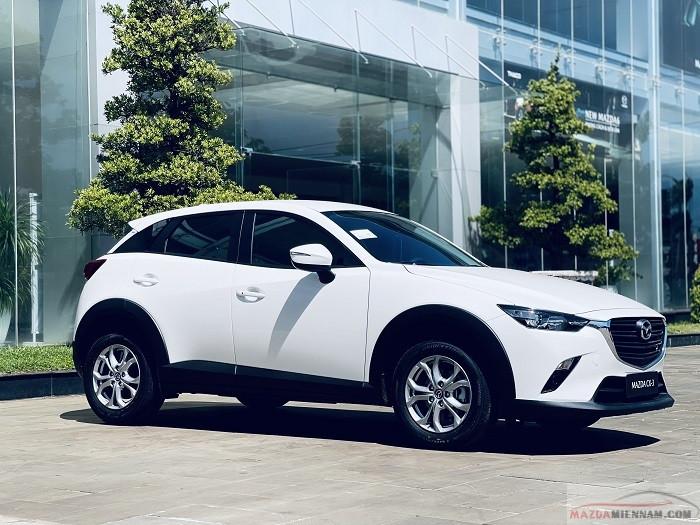 Mazda CX-3 màu trắng