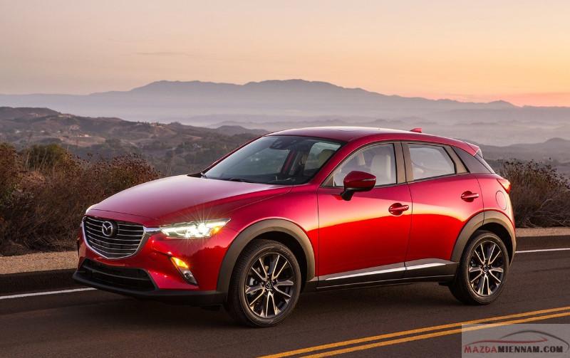 thông số kỹ thuật xe Mazda CX-3