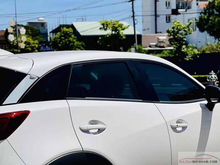 bộ ảnh Mazda CX-3 trắng