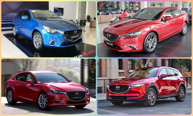 Các Dòng Xe Mazda 5 Chỗ