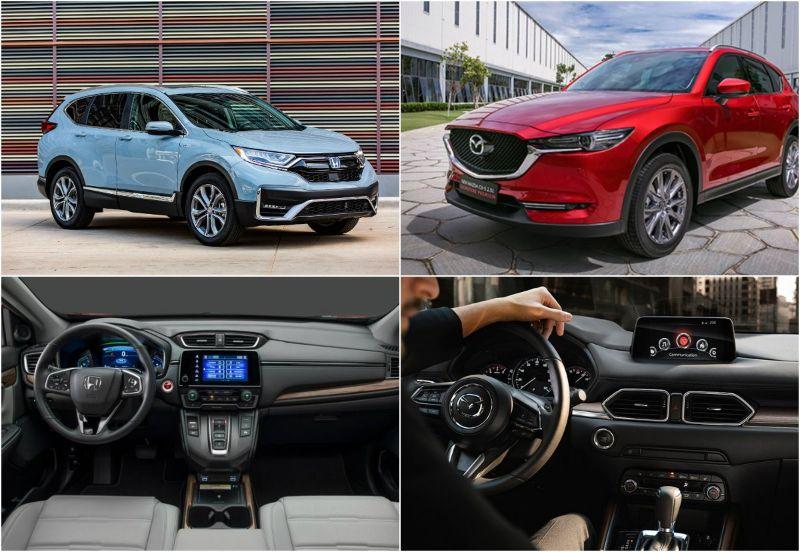 So sánh xe Mazda CX5 và Honda CRV - Với kích thước lớn hơn, Mazda CX5 mang tới cho người dùng không gian nội thất rộng rãi, tiện nghi
