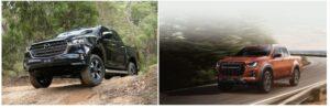so sánh xe Mazda BT50 và Isuzu DMax