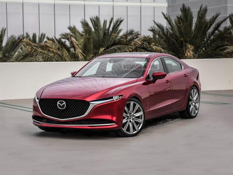 Đây là mẫu Sedan cao cấp của Mazda