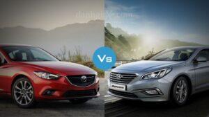 so sánh Mazda 6 và Hyundai Sonata