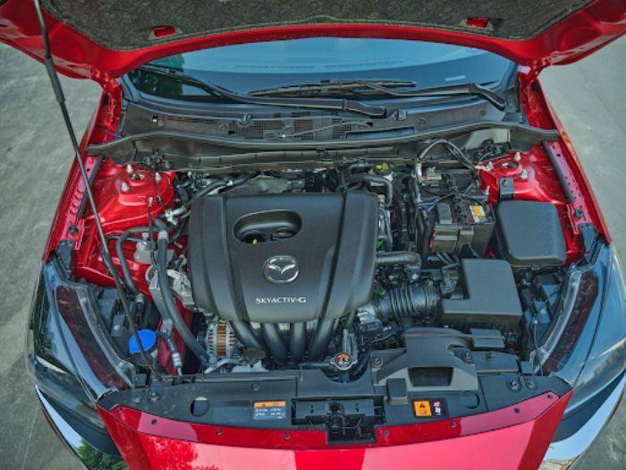 Động cơ vận hành của Mazda 2 mạnh mẽ