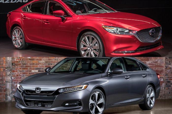 Thiết kế của Mazda 6 và Honda Accord hướng đến đối tượng khách hàng khác nhau