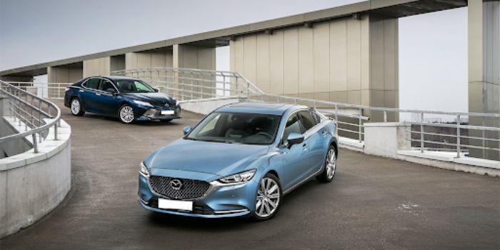 Động cơ của xe Mazda 6 vận hành mạnh mẽ