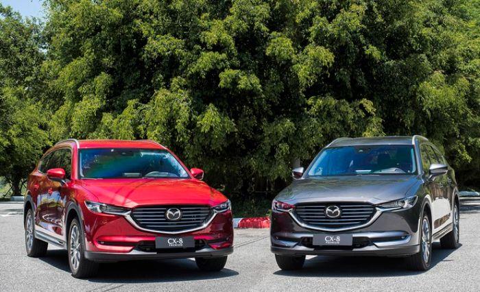 so sánh xe Mazda CX5 và Mazda CX8