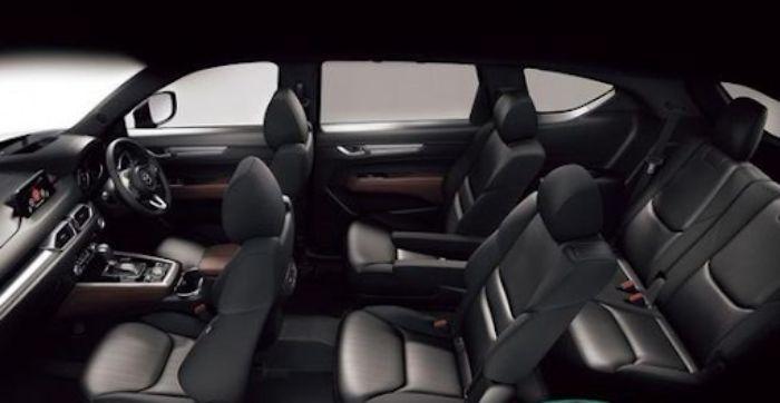 Mazda CX8 có 7 chỗ ngồi tiêu chuẩn, hơn CX5 2 chỗ