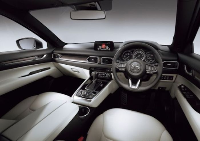 Nội thất của Mazda CX8 được nâng cấp hơn rất nhiều so với CX5