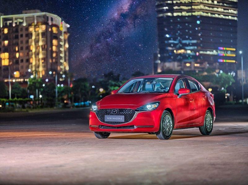 Xe Mazda 2 Premium có thiết kế hiện đại