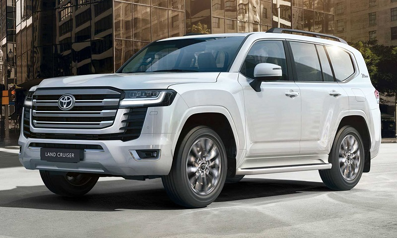 Ngoại thất của mẫu xe thế hệ mới Land Cruiser có tính thẩm mỹ cao