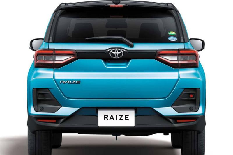 Đầu xe Toyota Raize 2021 có thiết kế hiện đại và năng động