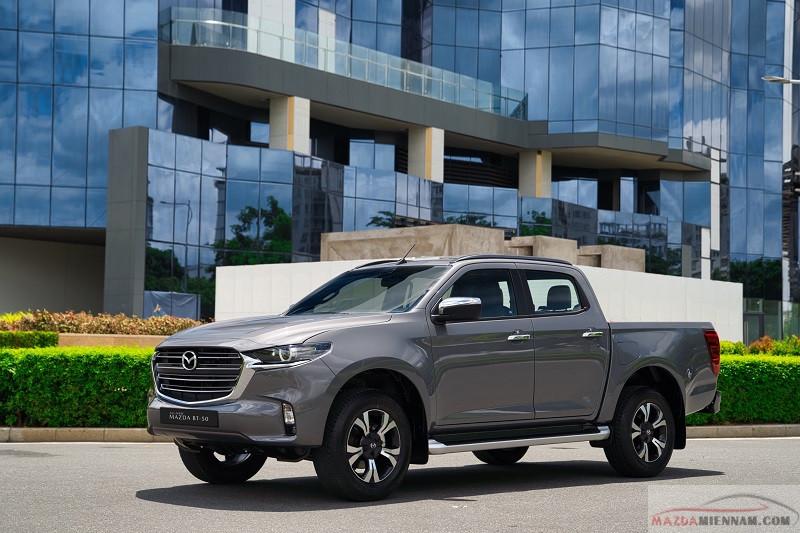 Bảng giá lăn bánh xe bán tải Mazda BT50 2021