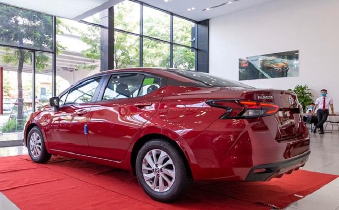 đánh giá ngoại thất Nissan Almera