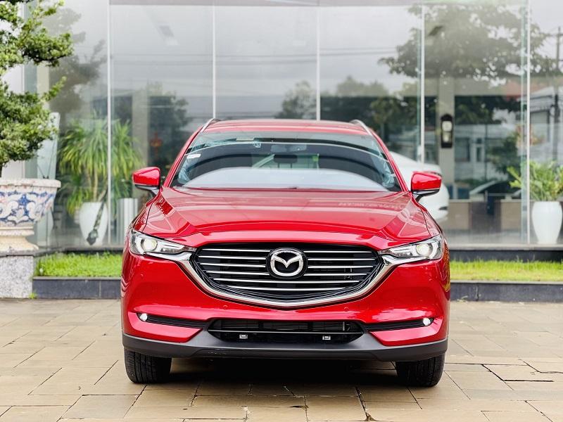 Mazda CX8 Deluxe Màu đỏ 1