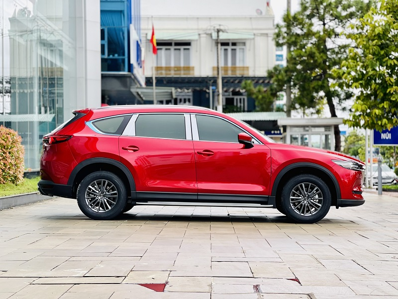 Mazda CX8 Deluxe màu đỏ 4