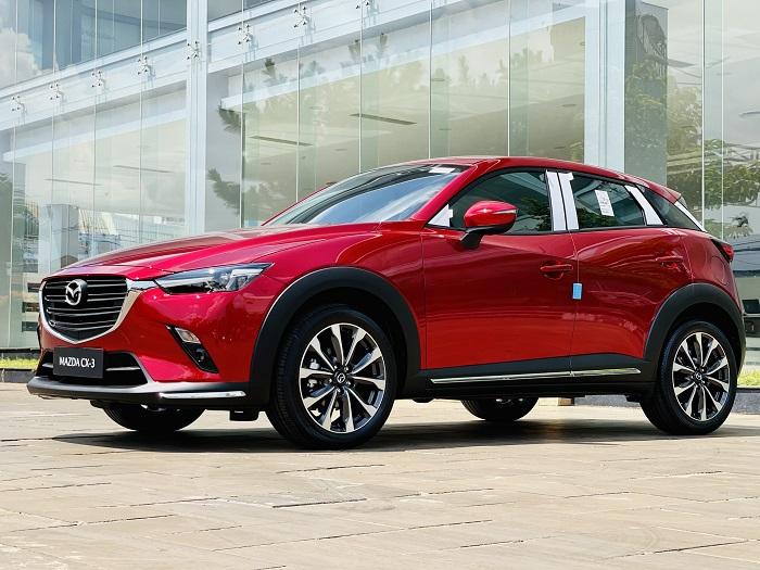 so sánh Mazda CX-3 và Kia seltos về ngoại hình