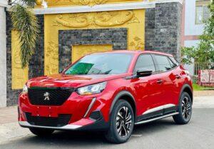 Peugeot 2008 4 mẫu SUV tiết kiệm nhiên liệu nhất năm 2021 tại Việt Nam