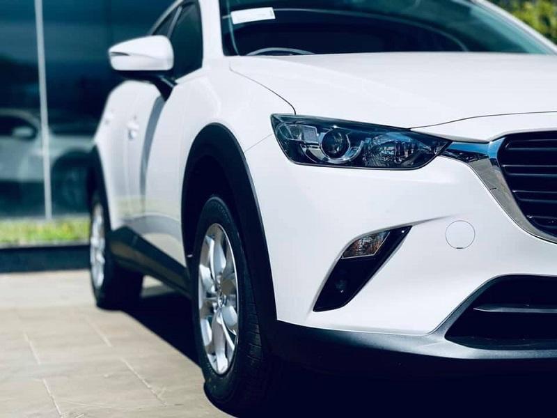 Thiết kế ngoại thất dòng xe Mazda CX3 bản Deluxe