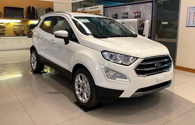 Ford Ecosport thuộc 4 mẫu SUV tiết kiệm nhiên liệu nhất năm 2021 tại Việt Nam