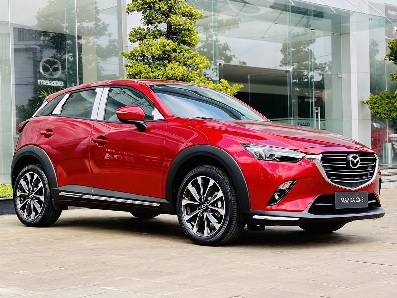 Mazda CX3 thuộc 4 mẫu SUV tiết kiệm nhiên liệu nhất năm 2021 tại Việt Nam